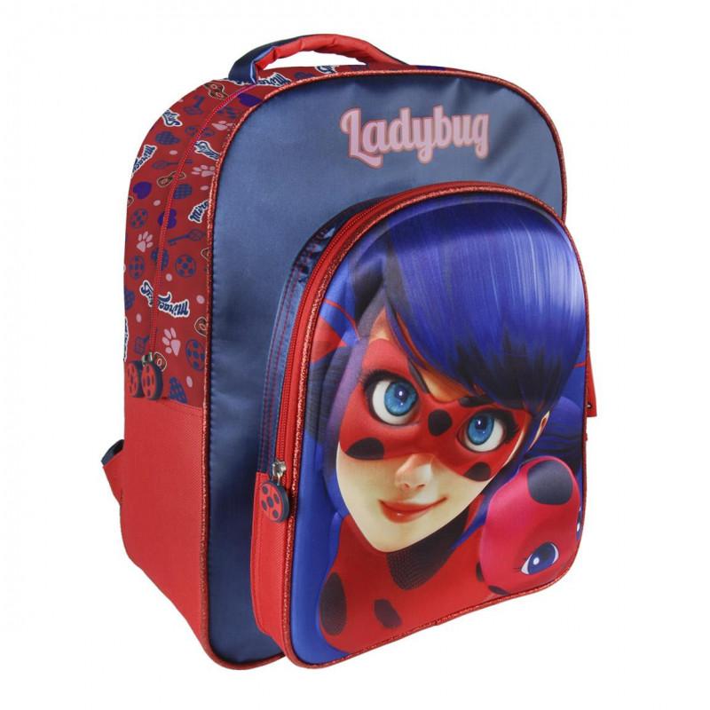 Σακίδιο lady bug με μαλακή πλάτη για κορίτσι  1007