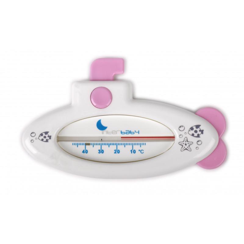 Θερμόμετρο νερού ροζ χρώματος  102753