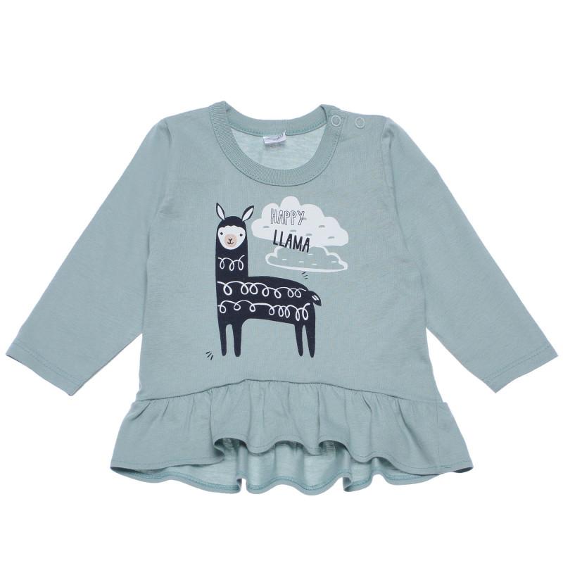 Μακρυμάνικη μπλούζα από βαμβάκι για μωρά  102878