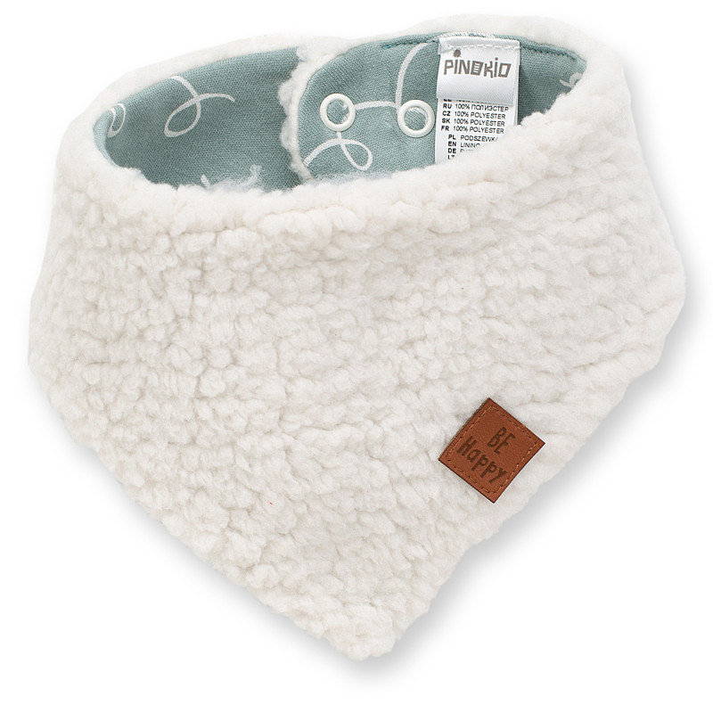 Μπαντάνα λευκή βαμβακερή για μωρό  102882