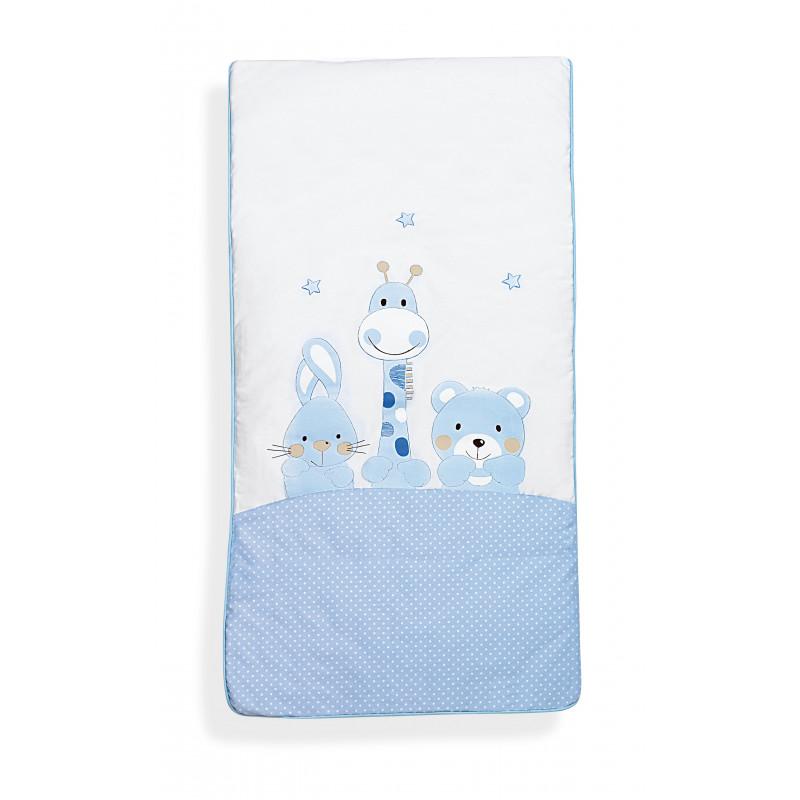 Σετ ύπνου 3 τεμαχίων λευκού χρώματος από 100% βαμβάκι για αγόρι  102963