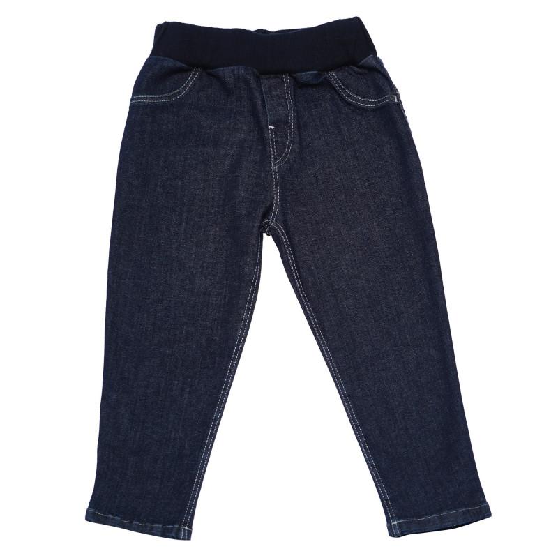 Τζιν βρεφικό παντελόνι με σχέδιο λαγουδάκι  103528