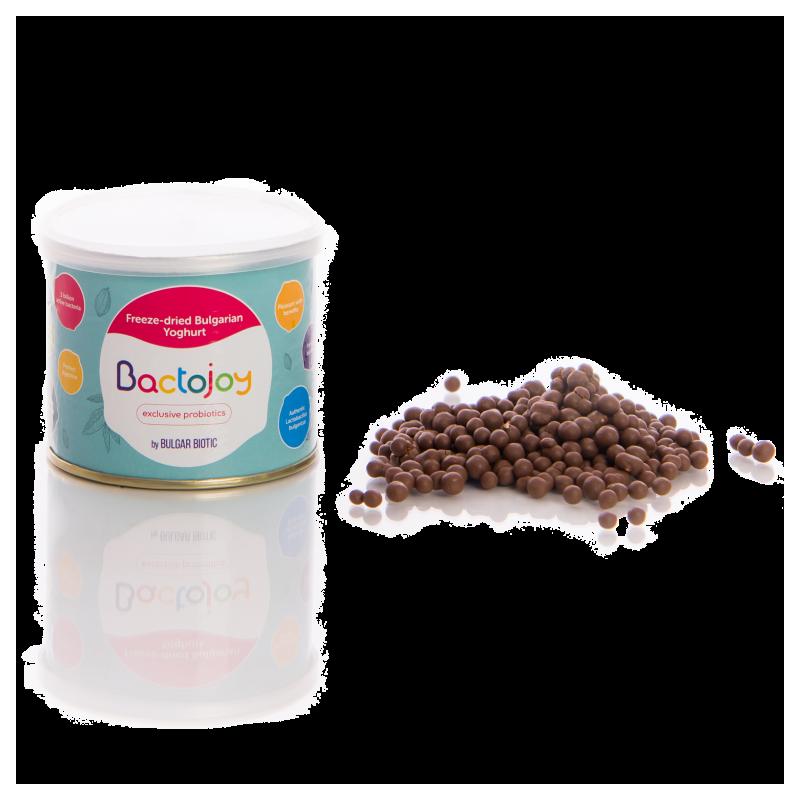 Προβιοτικά Dragees με Bactojoy Milk Chocolate Glaze  105737