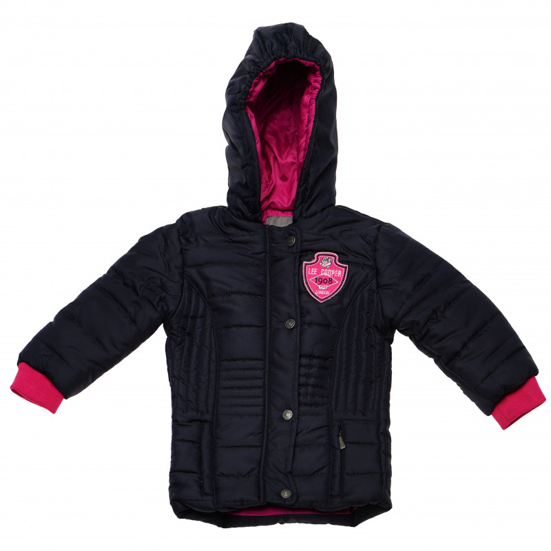 Μπουφάν με ροζ λογότυπο, για κορίτσι  105985