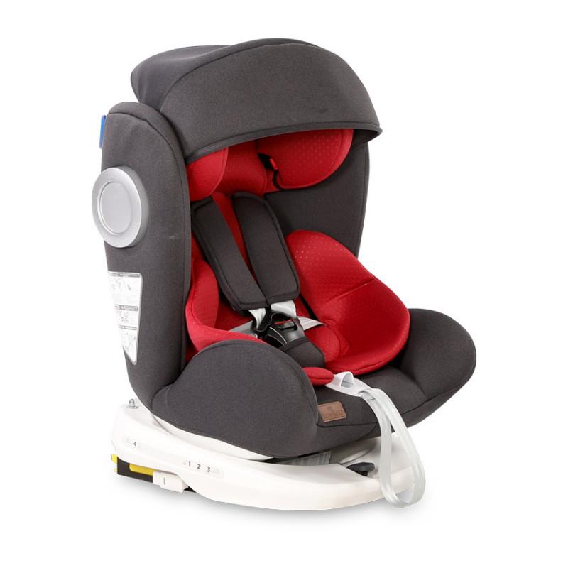 Κάθισμα αυτοκινήτου LUSSO SPS ISOFIX, Μαύρο & Κόκκινο, 0-36 kg  106649