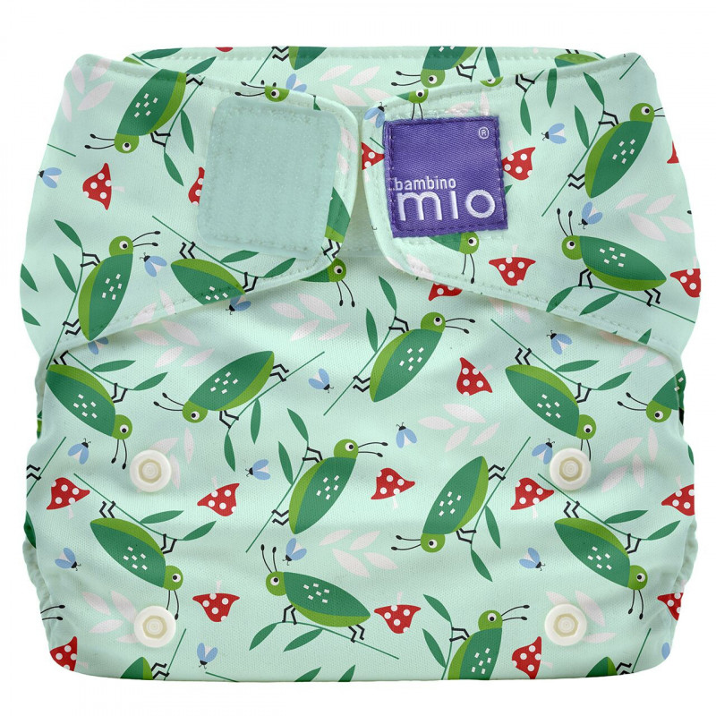 Επαναχρησιμοποιούμενες πάνες - τζίτζικας, Μέγεθος: one size- άνω των 4 κιλών, 1 τεμάχιο  106885