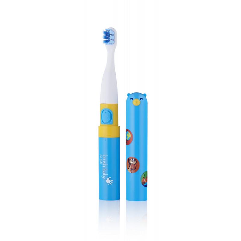 Ηλεκτρική οδοντόβουρτσα Go-Kids με αυτοκόλλητα, 3+ ετών  107097
