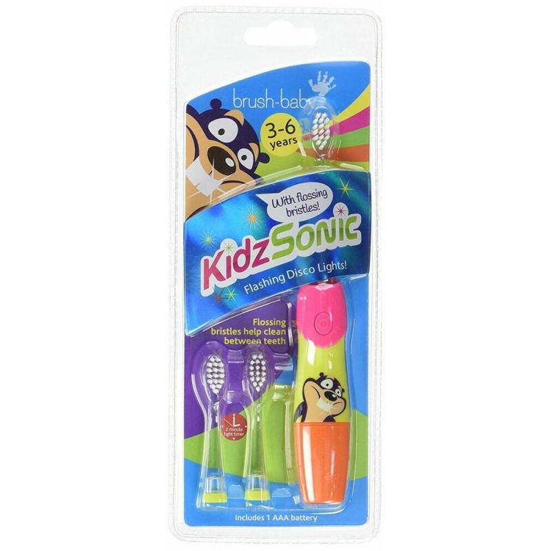 Ηλεκτρική οδοντόβουρτσα Kidzsonic, 3-6 ετών  107099