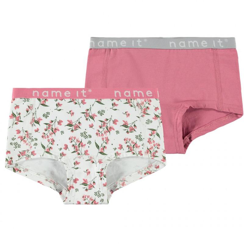 Σετ με panty εσώρουχα από οργανικό βαμβάκι για κορίτσια  107188
