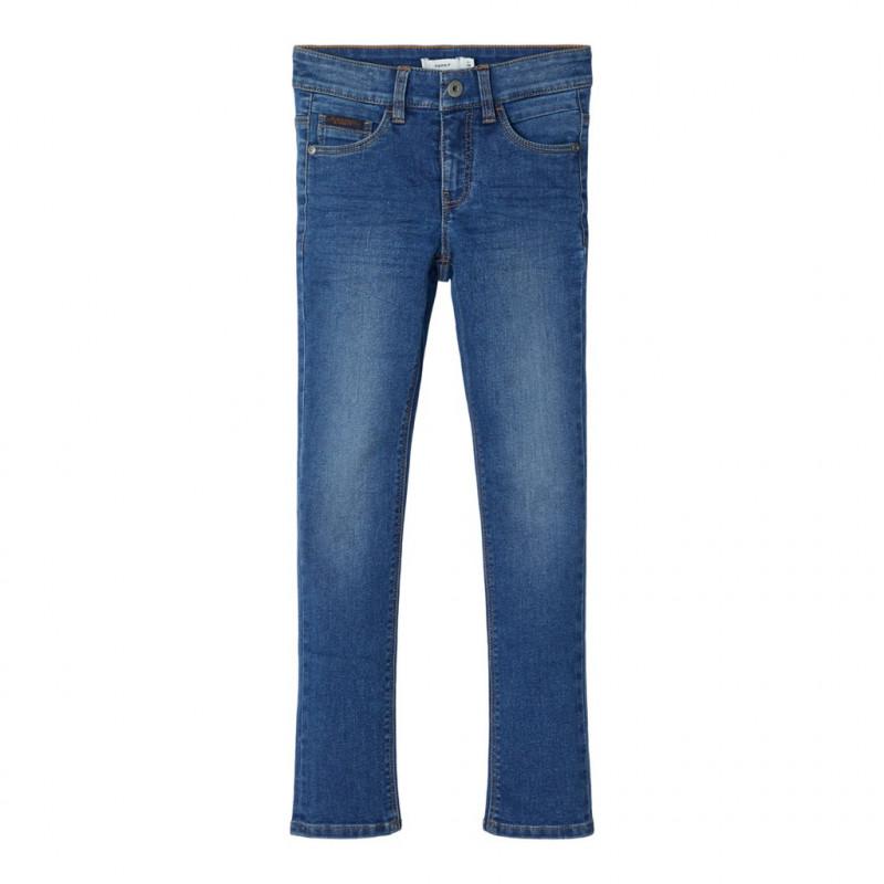 Slim τζιν παντελόνι, μπλε για αγόρια  107492