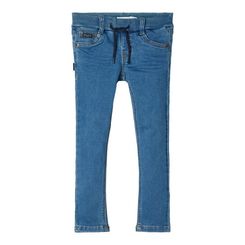 Τζιν παντελόνι σε μπλε χρώμα για κορίτσια  107730