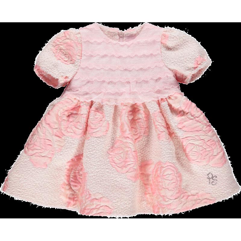 Επίσημο φόρεμα για κοριτσάκια, ροζ  107826