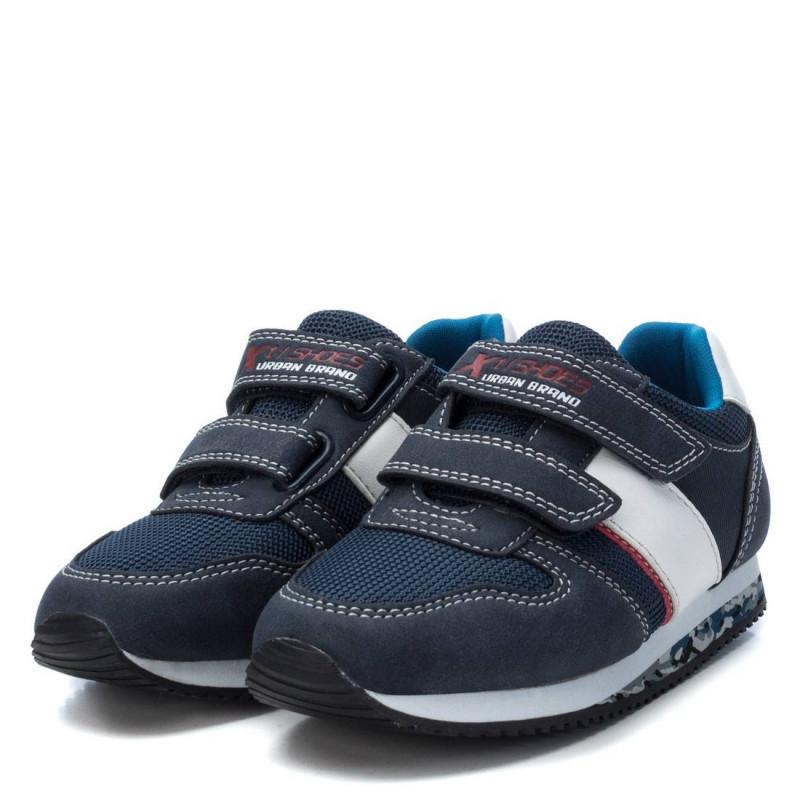 Sneakers σκούρoυ μπλε χρώματος, με λουράκι velcro, για αγόρι  107846