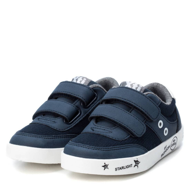 Sneakers με λουράκια Velcro,  σε σκούρο μπλε χρώμα, για αγόρι  107858