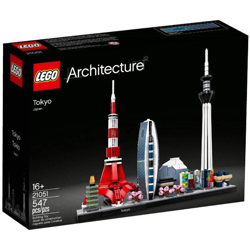 Σχεδιάστε το Τόκιο με επωνυμία Lego, 547 κομμάτια  109803