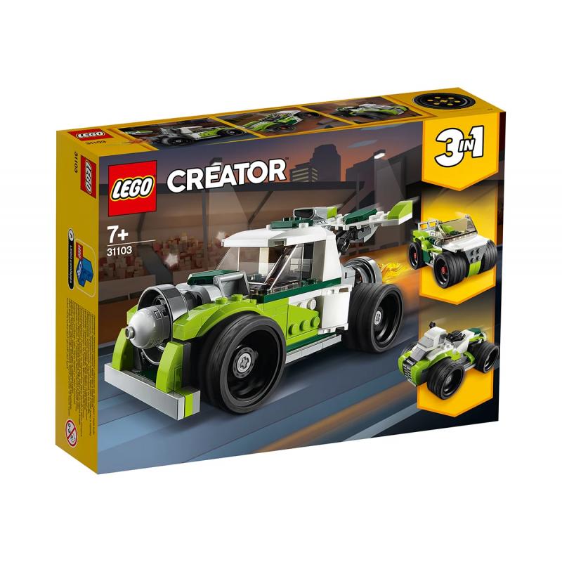 Lego Creataor, Rocket Truck, 198 τεμάχια  109961
