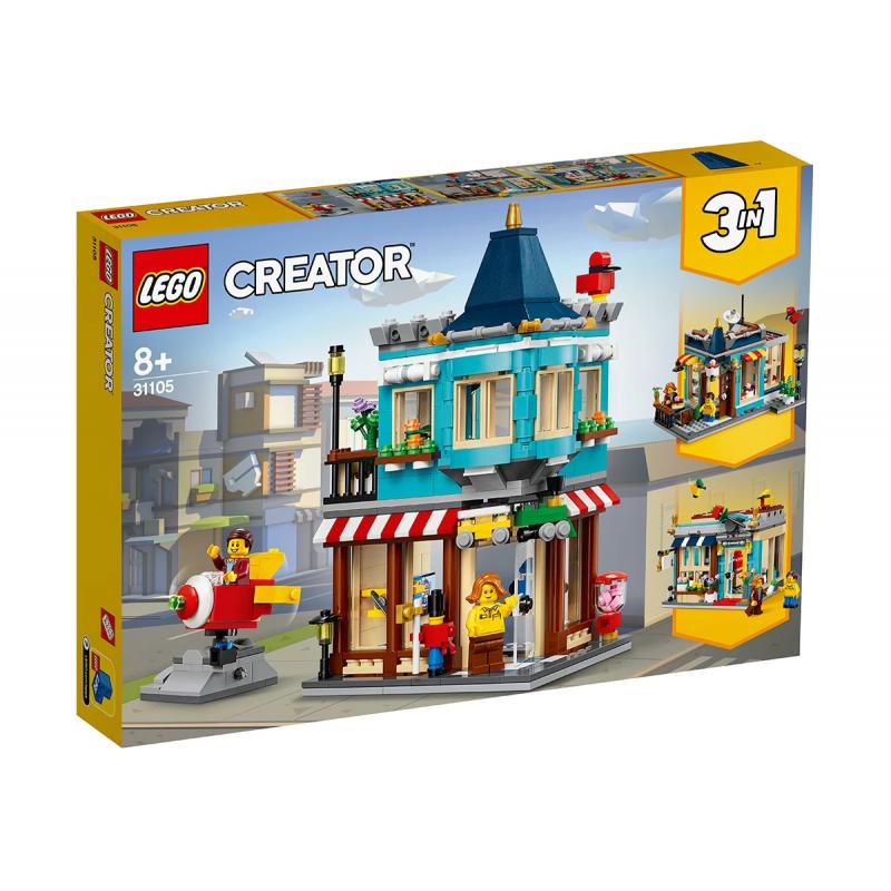 Lego Creaator, Toy City Store, 554 τεμάχια  109973