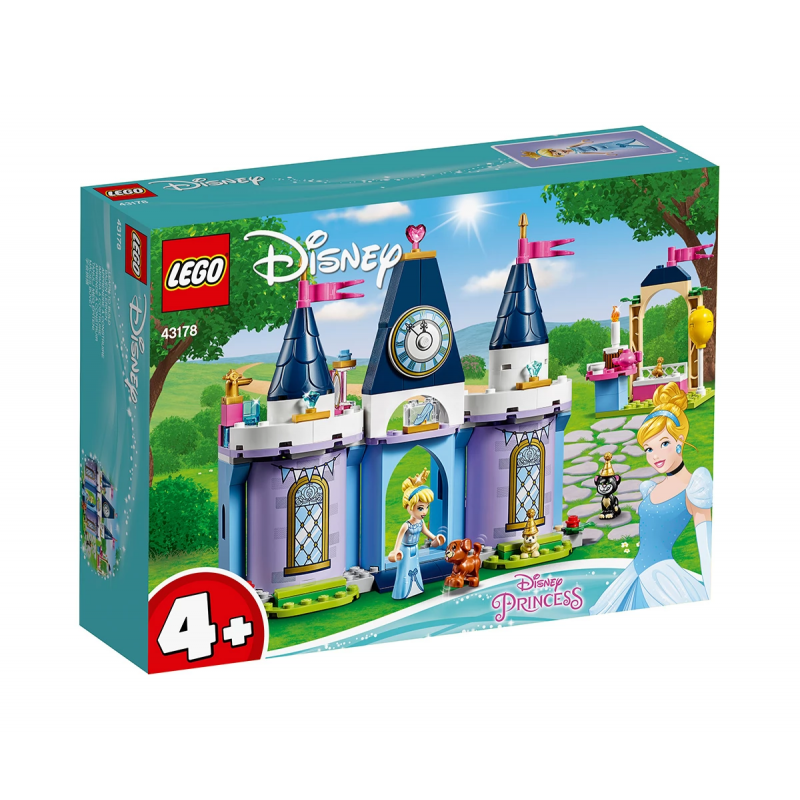 Lego Set, Cinderella Castle Party, 168 τεμάχια  110036