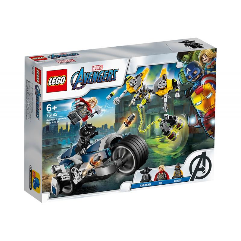 Lego Set, Avengers Motorcycle Assault, 226 τεμάχια  110316