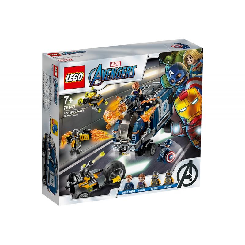 Lego Set, Avengers Motorcycle Assault, 447 τεμάχια  110338