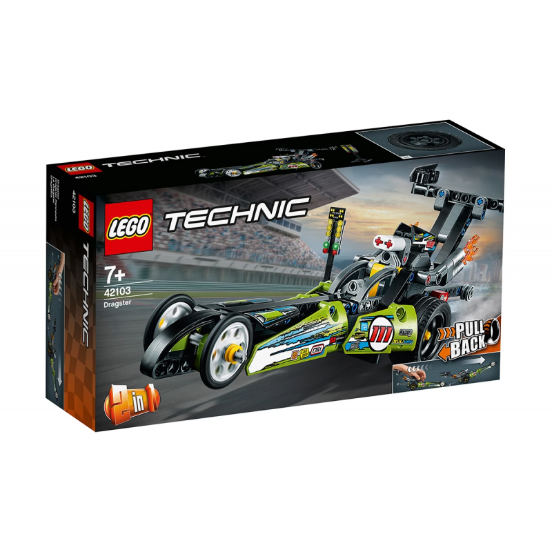 Σετ Lego, Dragster, 225 τεμάχια  110395