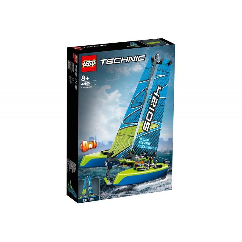 Lego Set, Καταμαράν Σχεδιαστής, 404 κομμάτια  110418