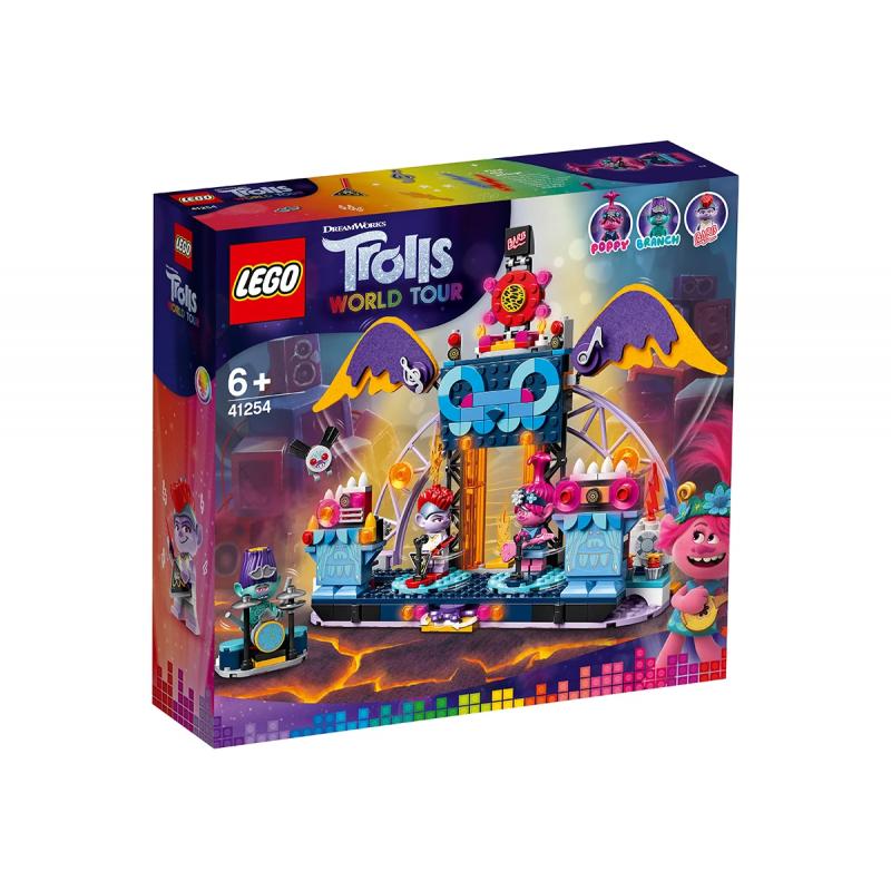 Lego Designer, Rock συναυλία στο ηφαίστειο, 387 κομμάτια  110522