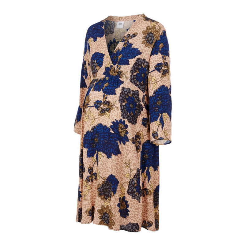 Φόρεμα 2 σε 1 με τύπωμα για έγκυες και θηλάζουσες γυναίκες  110568