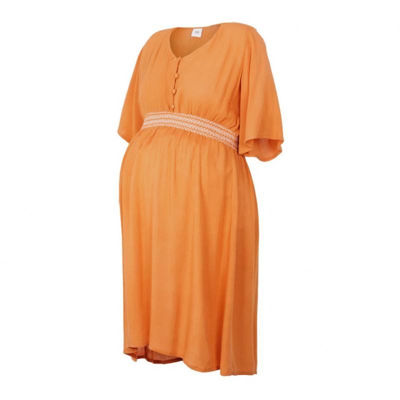 Ethereal μητρότητα φόρεμα, πορτοκαλί  110584