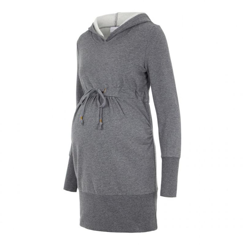 Μακρυμάνικη μπλούζα μητρότητας, γκρι  110603