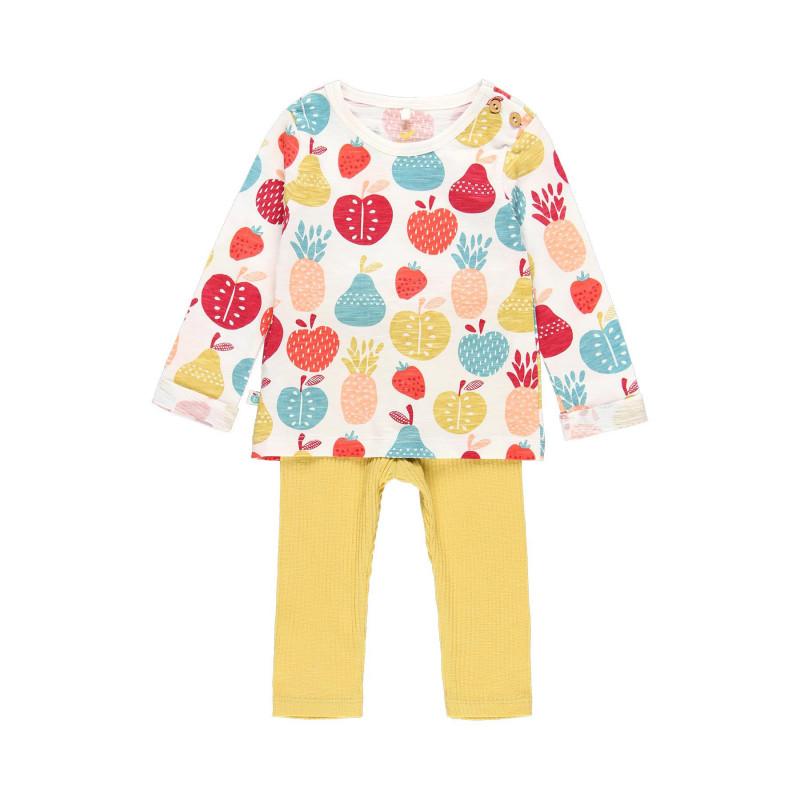 Σετ μπλούζας και παντελόνι μωρού Boboli  112992