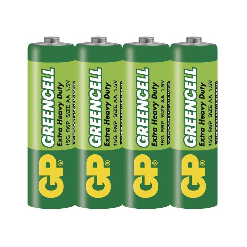 Μπαταρίες GP-Extra Heavy Duty, AA, 1.5V, 4 τεμ.  113640
