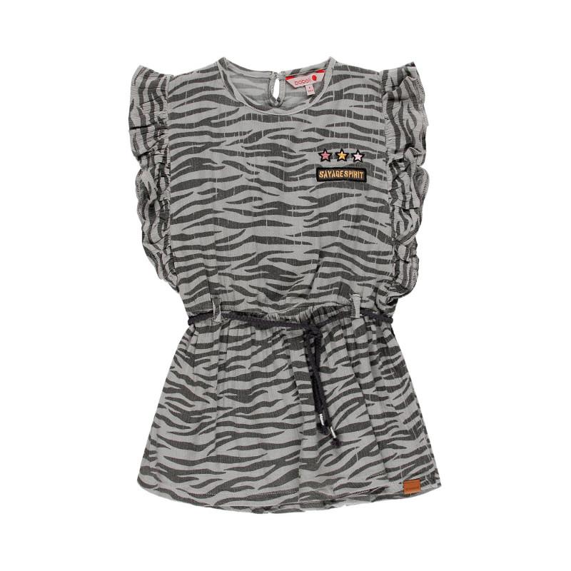 Μπλούζα με στάμπα άνιμαλ πριντ για κορίτσι  113878