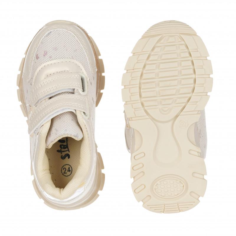 Πάνινα παπούτσια Star girl, μπεζ  114676