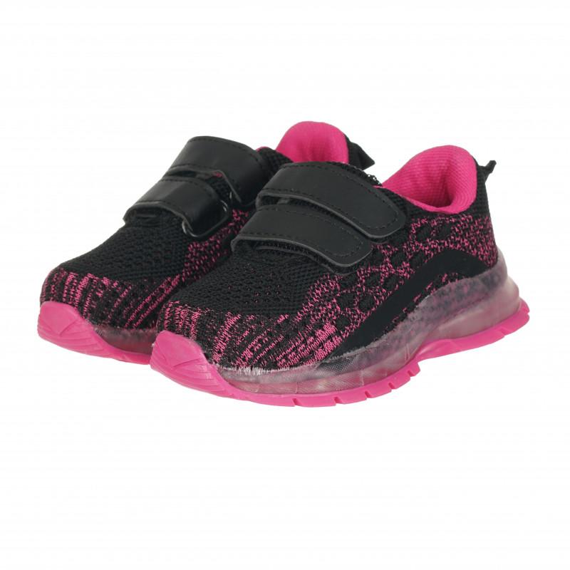 Πάνινα παπούτσια Star girl, ροζ  114683