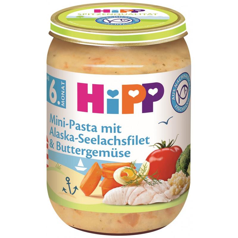 Πουρέ πάστα με φιλέτα μπακαλιάρου, λαχανικά, βάζο 190 γρ.  114903