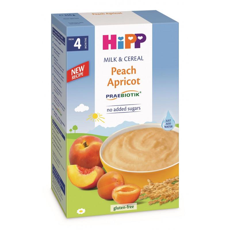 Prebiotic Instant peach paste + βερίκοκο, κουτί 250 g  114941
