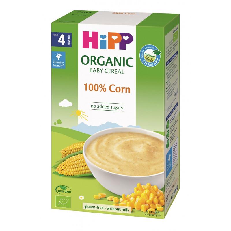Βιολογικά δημητριακά καλαμποκιού με γαλακτοκομικά , κουτί 200 g.  114945