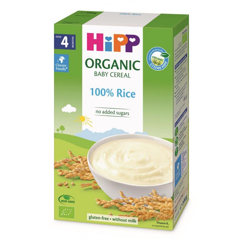 Βιολογικό ρύζι χωρίς γαλακτοκομικά προϊόντα, κουτί 200 g.  114946