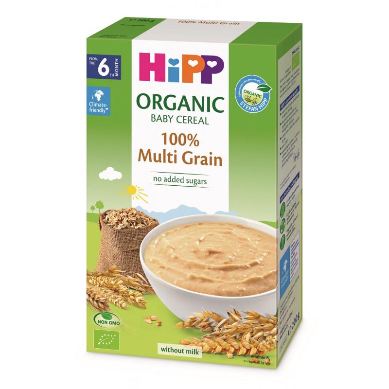 Βιολογικός χυλός δημητριακών χωρίς γαλακτοκομικά 200 g  114947