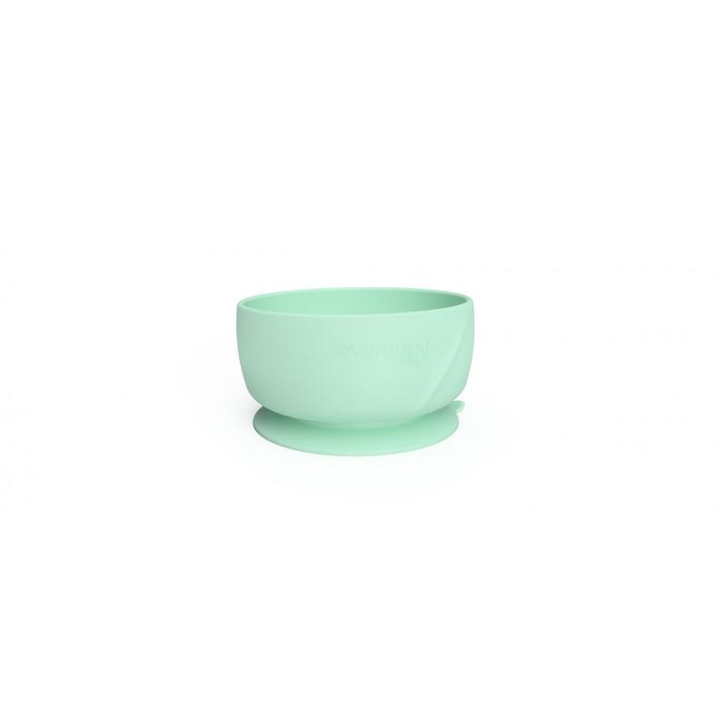 Κολλητικό μπολ σιλικόνης σε πράσινο χρώμα  114986