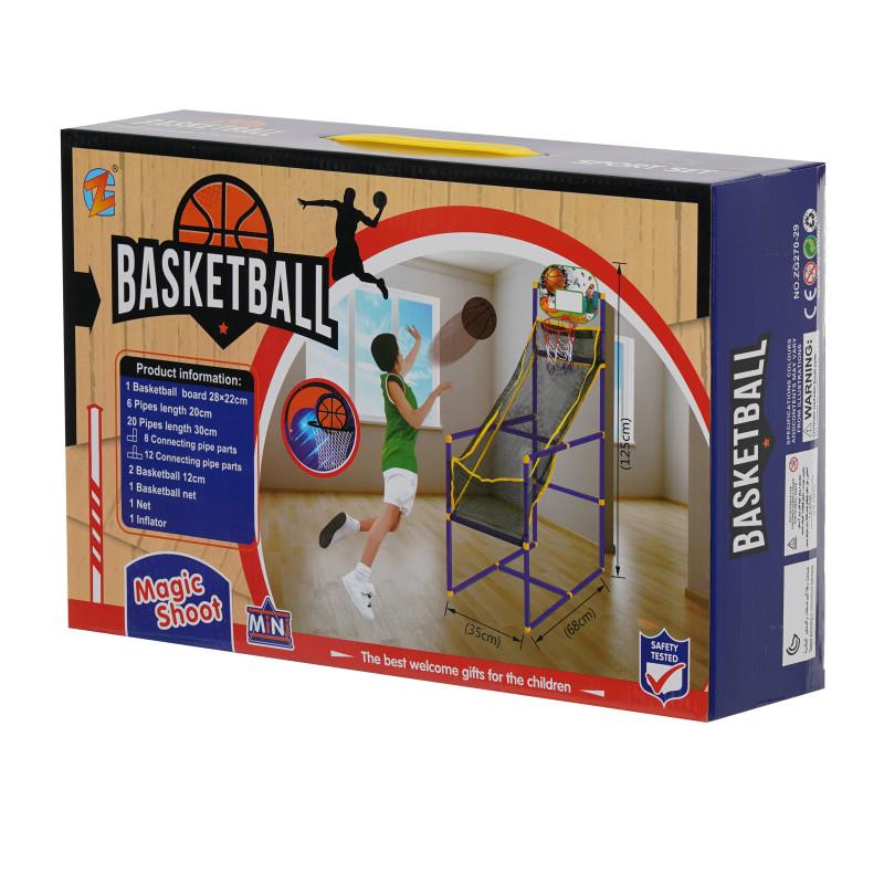 Προσομοιωτής μπάσκετ με μπάλα και αντλία  115376