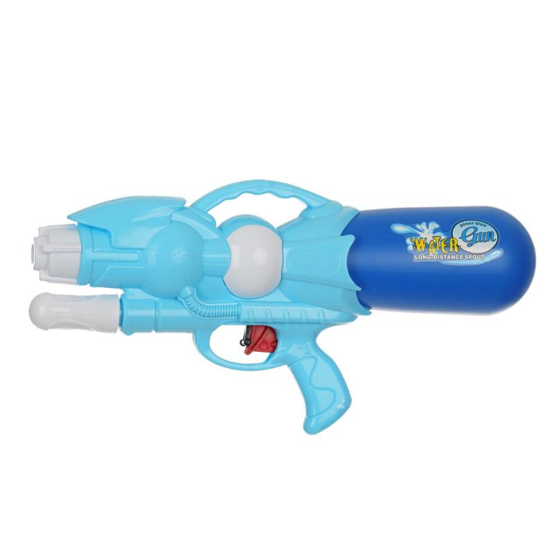 Πιστόλι νερού με αντλία, μπλε - 33 εκ  115395