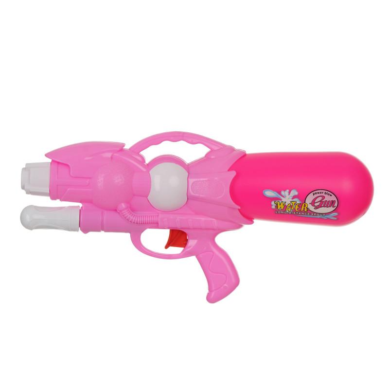 Πιστόλι νερού με αντλία, ροζ - 33 εκ  115398