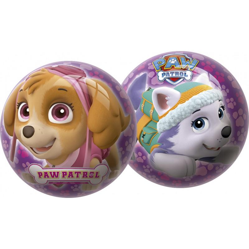 Μωβ μπάλα διαμέτρου 23cm για κορίτσια - Paw Patrol  1158