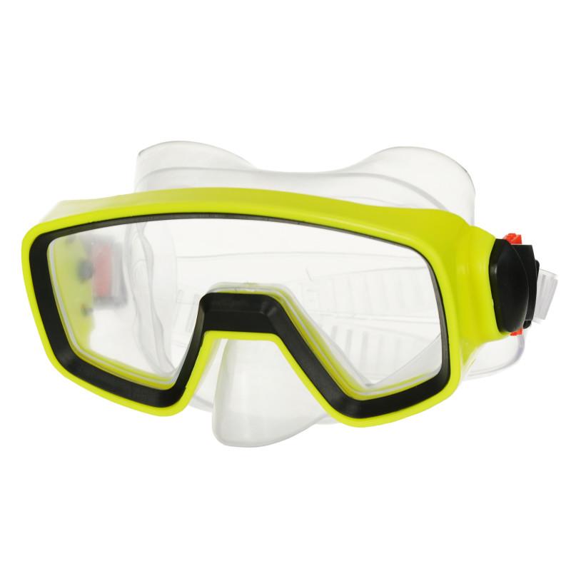 Μάσκα κολύμβησης / κατάδυσης, κίτρινη  116077