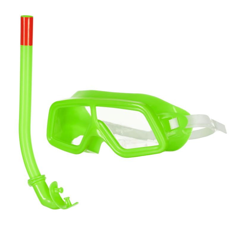 Παιδικό σετ κολύμβησης / κατάδυσης, πράσινο  116081