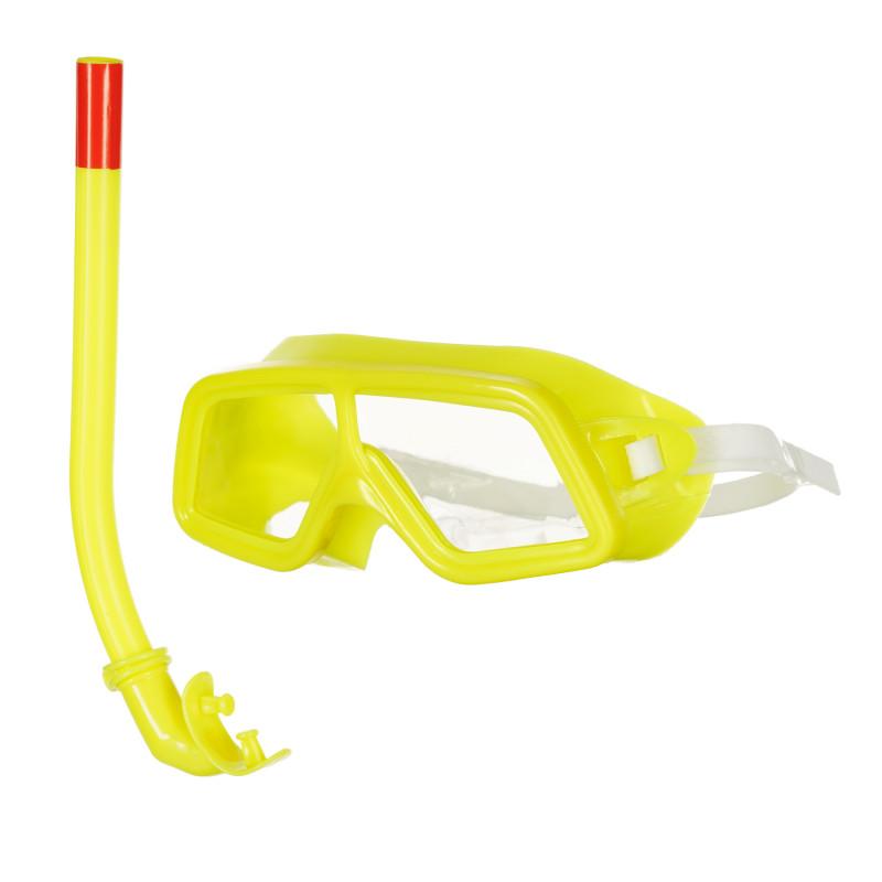 Παιδικό σετ κολύμβησης / κατάδυσης, κίτρινο  116089