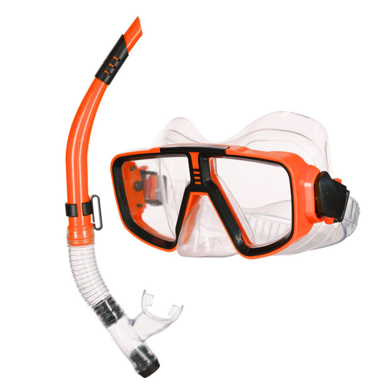 Σετ μάσκας και αναπνευστήρα, πορτοκαλί  116113