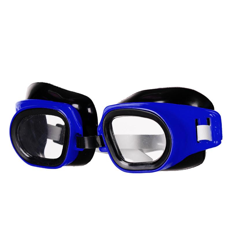 Ρυθμιζόμενα γυαλιά κολύμβησης, μπλε  116159